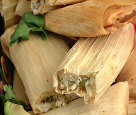 GREEN CHILE CHICKEN TAMALES1