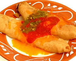 RELLENO PLATE WITH SAUCE 2 250